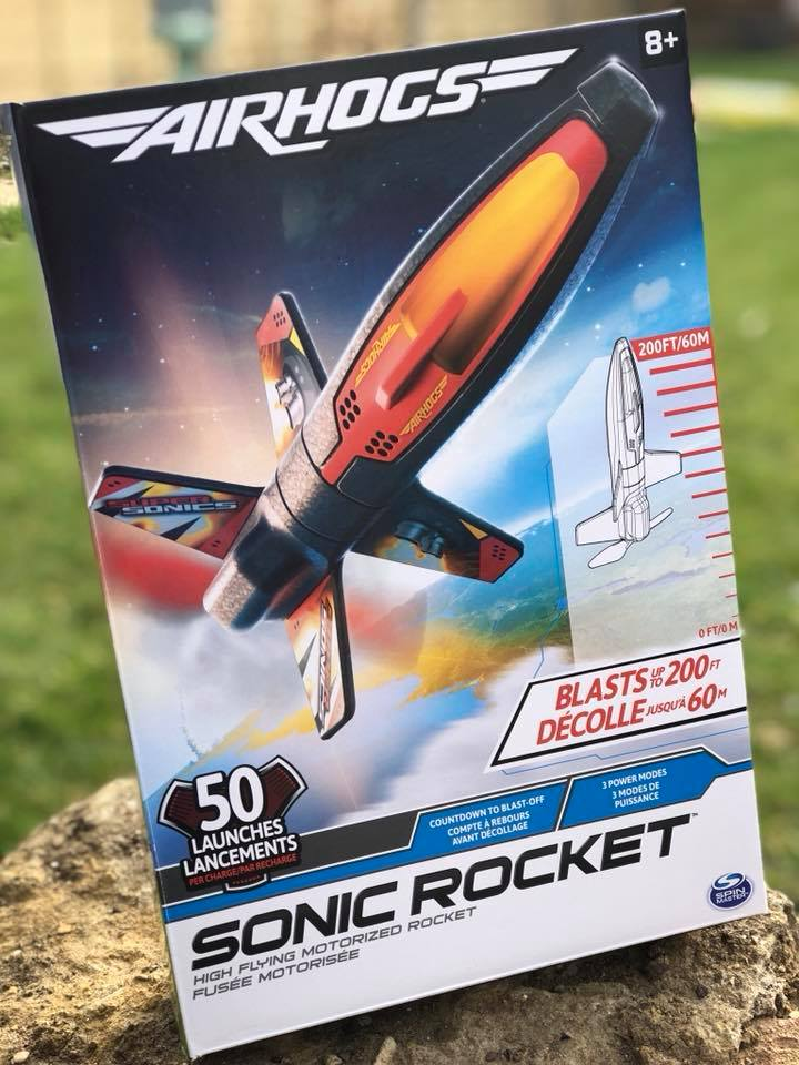 Air Hogs Sonic Rocket box