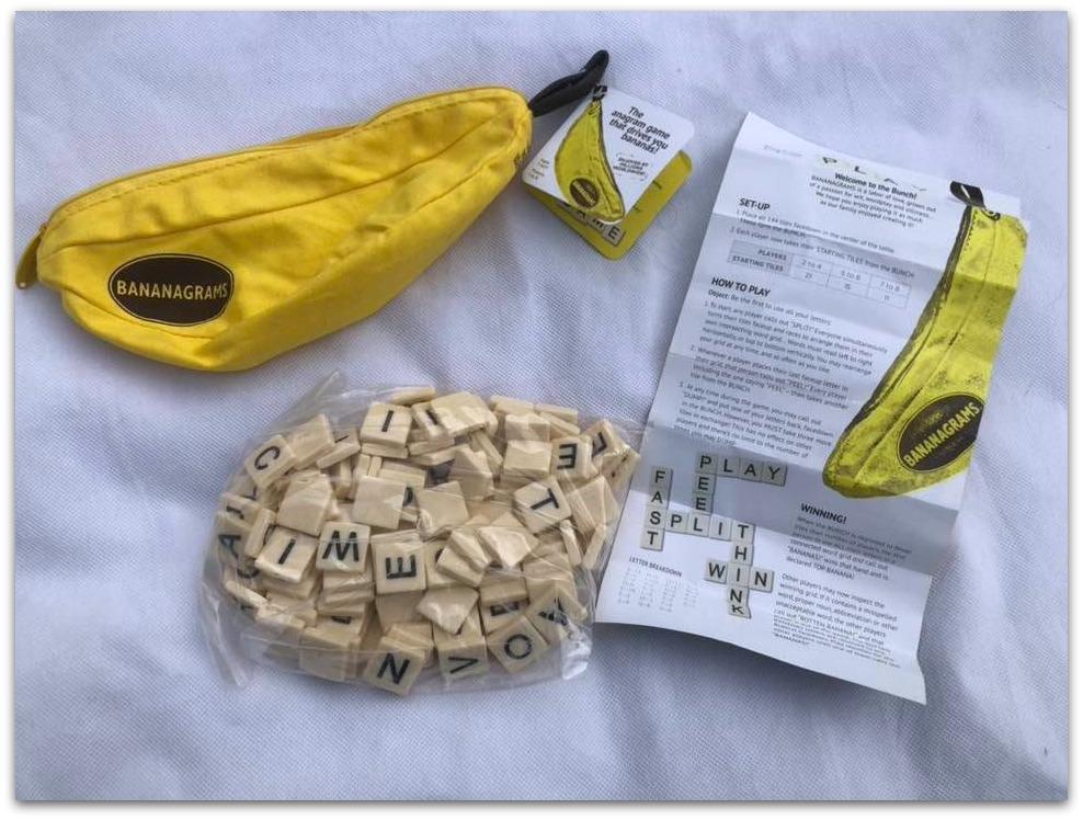 Bananagrams contents