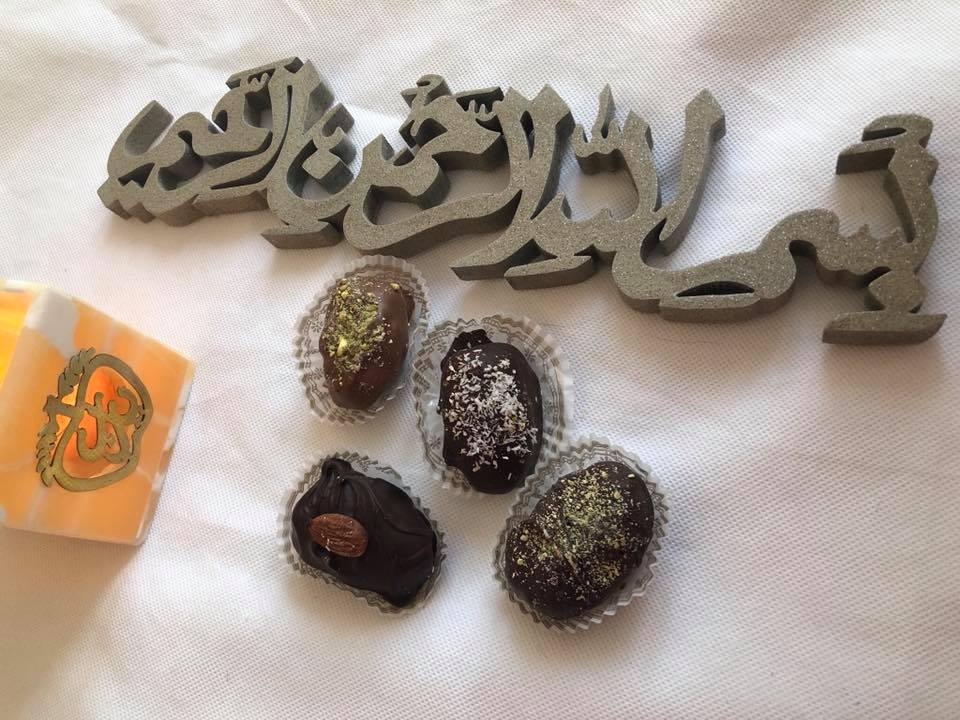 Chocolate covered dates from hidden pearls