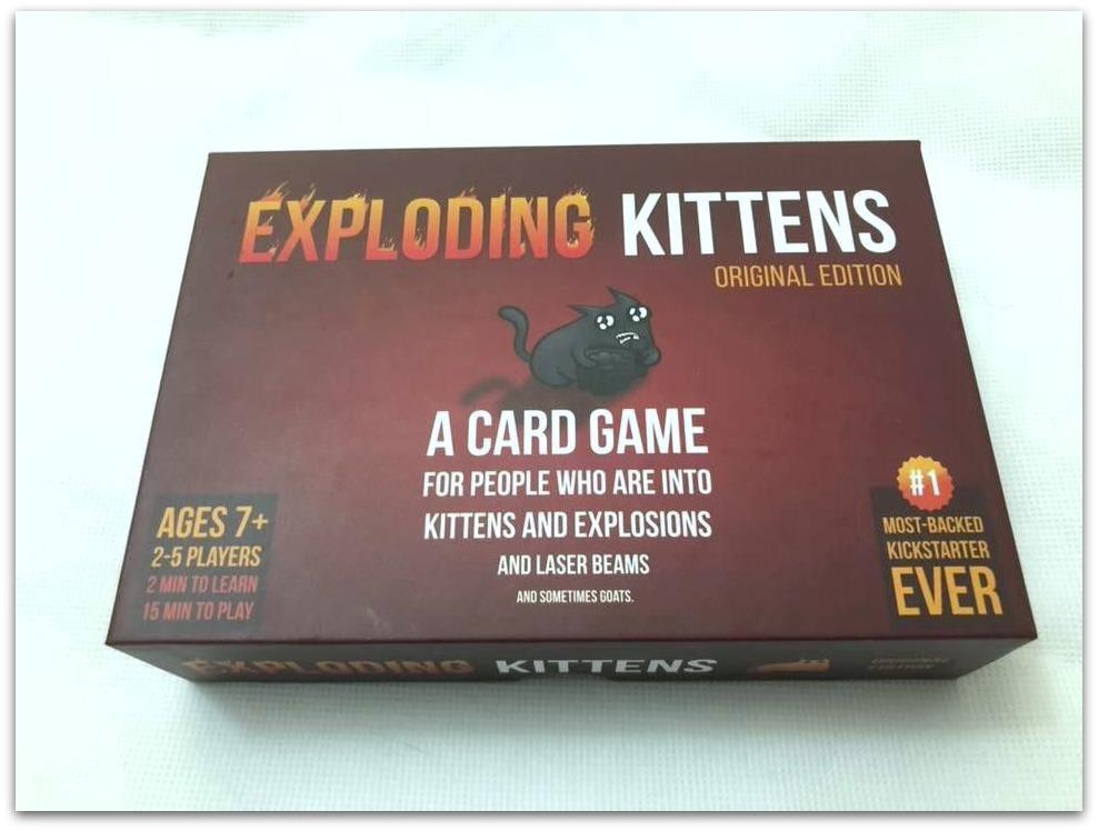 Review: Exploding Kittens