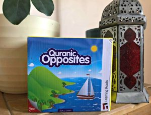 Quranic Opposites by Learning Routes