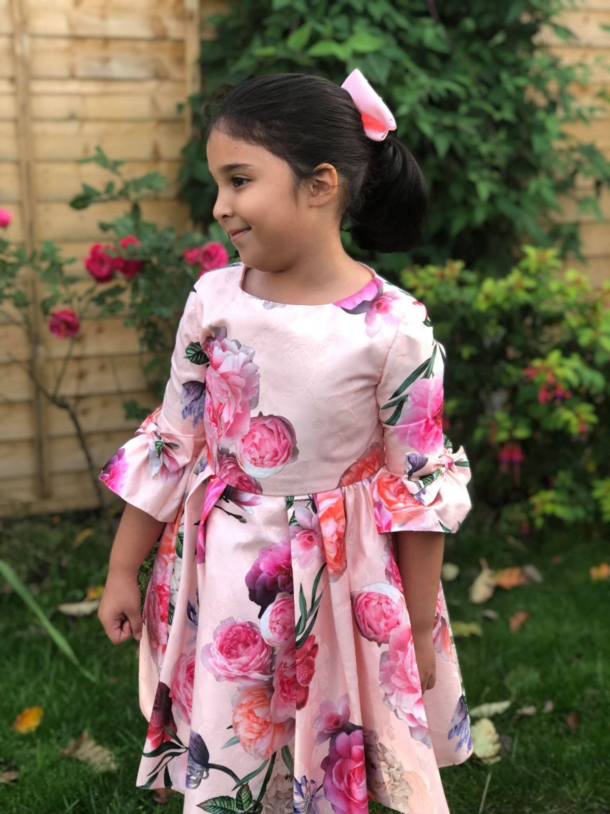 Little girl Wearing David Charles Childrenswear