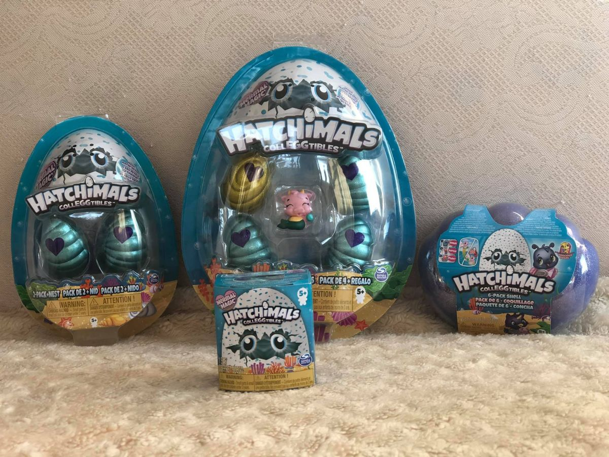 Packets of Hatchimals CollEGGtibles Season 5 Mermal Magic