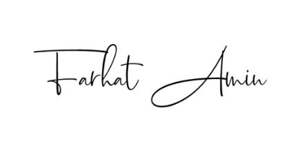 Farhat Amin Logo